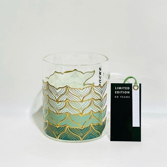 Starbucks Mermaid Mug 50th anniversary